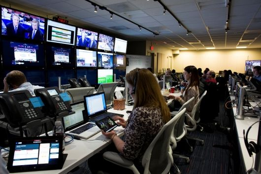 Turner Sports and CBS Sports NCAA March Madness Live Operations Center