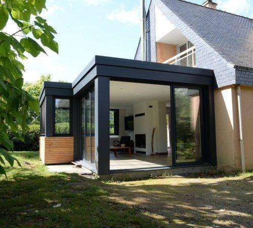 Les 10 meilleures images du tableau veranda extension for Maison de 40m2
