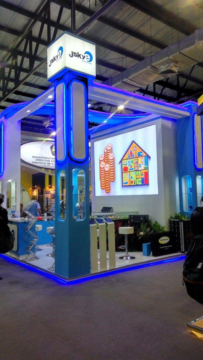 Kontraktor Booth Pameran   Booth Pameran Sky Energi   rumahpameran.com