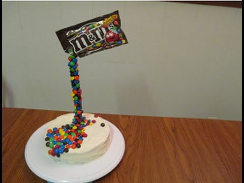 How to make Anti-gravity cake