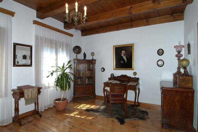 Lublin dworek Wincentego Pola wnętrze