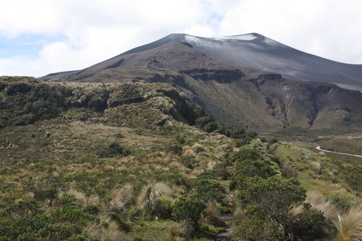 A good view to the omnipotent Purace Volcano.