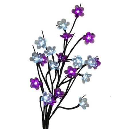 """#Christmas Where can I find 28"""" Battery Operated LED Lighted Artificial Flower Branch - Cool White Lights for Christmas Gifts Idea Shop . Christmas  is a wonderful time of year, but let's not pretend: It is nerve-racking and method over-stimulating in case you have any zillion activities the ones to determine. We have covered a variety ..."""
