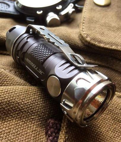 JETBeam-II PRO Cree XP-L HI LED 510 Lumens Waterproof EDC Everyday Carry Flashlight