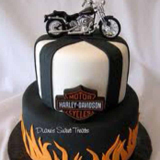 7 best Harley bday ideas images on Pinterest Harley davidson cake