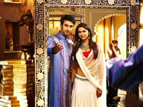 Ranbir Kapoor and Deepika Padukone From Tamasha