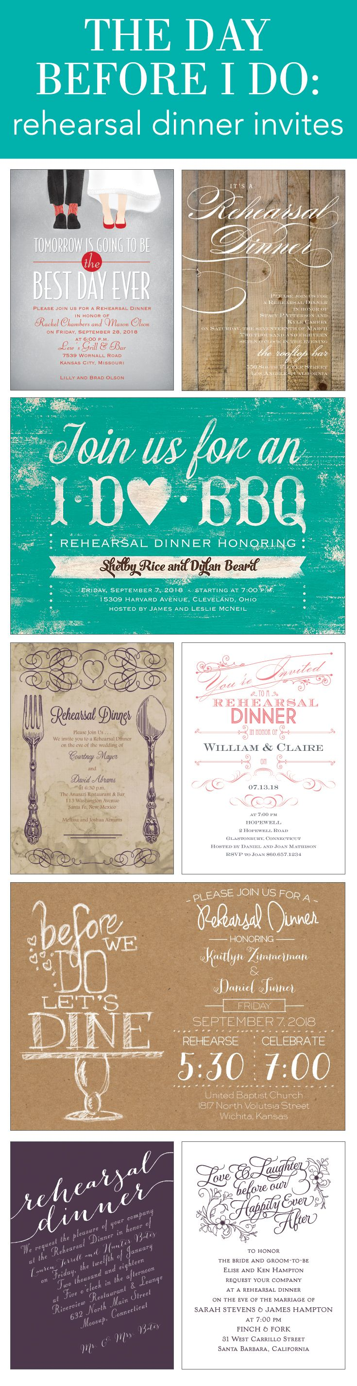 50 Best Rehearsal Dinner Images By Invitations By Dawn On Pinterest