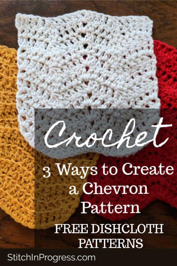 One Skein Crochet Chevron Dishcloth Patterns Best Of Stitch In