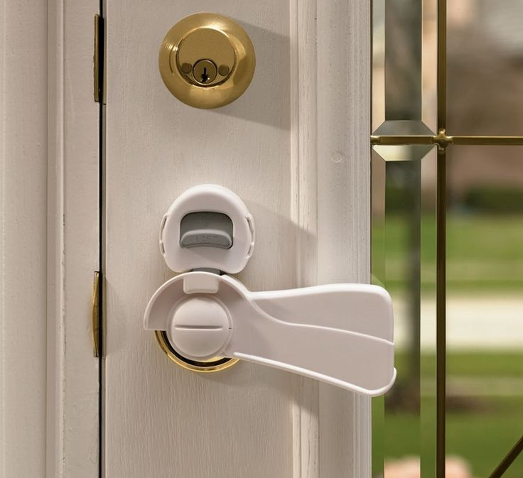 KidSafe Home Safety   KidCo Door Lever Lock, $9.99 (http://www