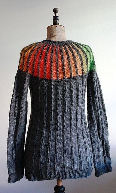 Arco Iris. Skøn regnbuecardigan med enten lynlås eller knapper – du vælger selv.