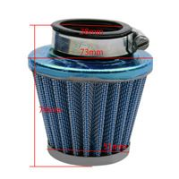 Blue 38mm Performance Air Filter for 50cc 70cc 90cc 110cc 125cc Pit Pro Dirt Bike Motor Moped Scooter Motorcycle $