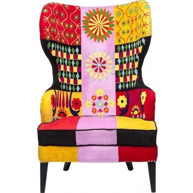 #Kare #Design #Fauteuil Fiesta Colore - #Multicolor