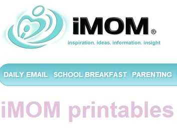 iMOM printables: from chore charts to dating contracts, food charts to summer fun checklists!