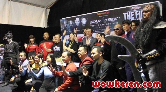 "wowkeren.com : Rasakan sensasi petualangan luar angkasa di ""StarTrek Exhibition"" - http://www.wowkeren.com/berita/tampil/00052412.html"