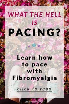 Pacing is a term always used in reference to fibromyalgia. But, what does it mean exactly? Learn about pacing and fibromyalgia by clicking through to this article. Or pin to save for later.