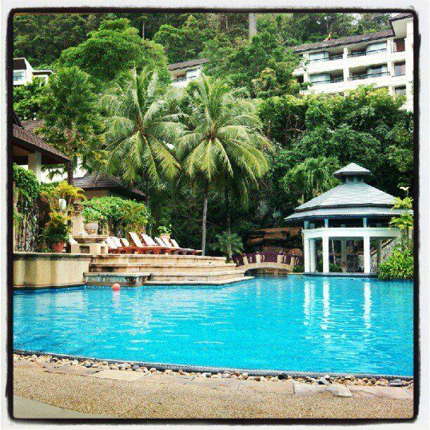 Diamond Cliff Resort. Phuket 2012.