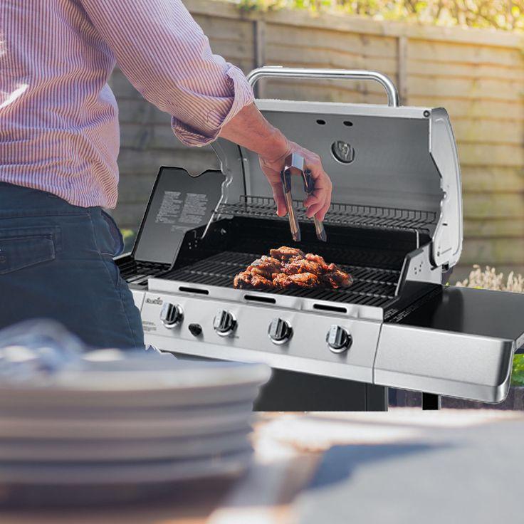 Char-Broil 40,000 BTU 4 Burner Gas Grill With Side Burner   ON SALE $159.88  660…