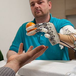 An Artificial Hand with Real Feelings, technologyreview #Bioengineering #Prosthetic_Hand