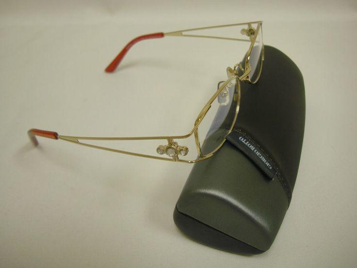Clearance Sale!!! Giorgio Botto Women's Titanium Eyeglass Frame - Gold
