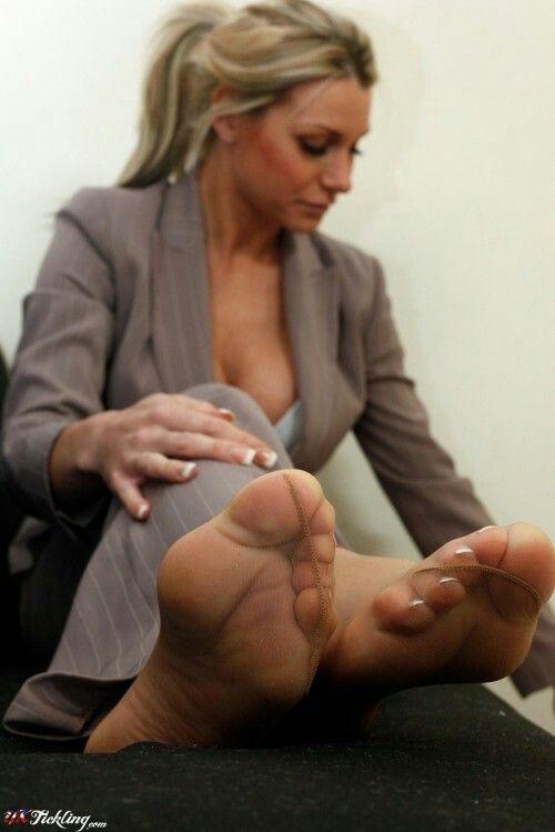 Nylon fötter
