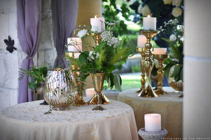 Ceremony styling in Evergreen Garden