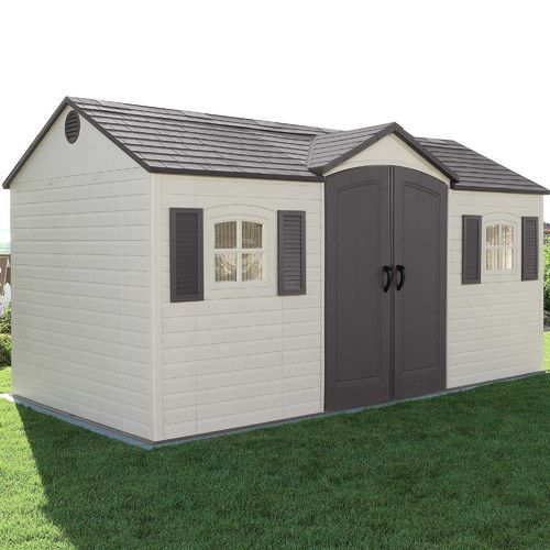 Found it at Wayfair - Side Entry 15 Ft. W x 8 Ft. D Plastic Storage Shed