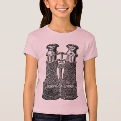 Vintage Binoculars T-Shirt - retro clothing outfits vintage style custom