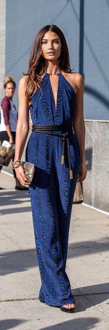 #street #fashion summer blue dress @wachabuy