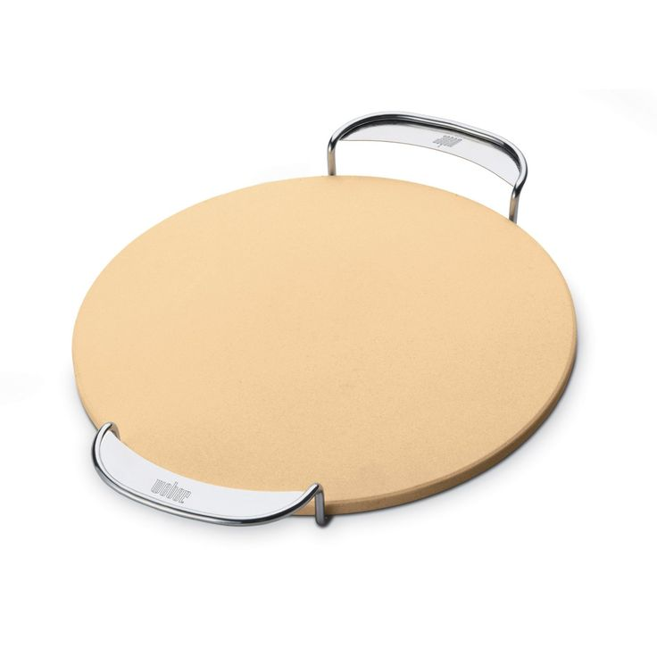 Amazon.com : Weber 8836 Gourmet BBQ System Pizza Stone with Carry Rack : Weber Grill Accessories : Patio, Lawn & Garden