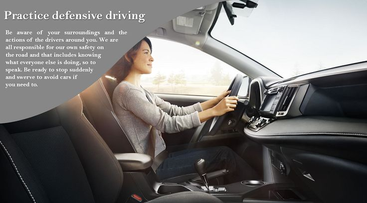 "Always do defensive driving Your most important responsibility is not to harm yourself or anyone else while you drive the ""big moving automobile"" down the road. Accidents happen fast and are not a do-over. #nokianhakkapeliittar2"