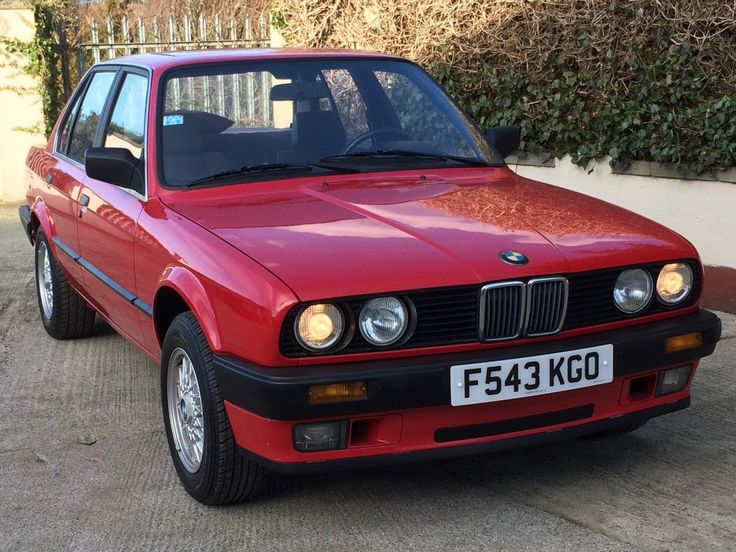 eBay: 1988 BMW 318 i AUTO IN RED, LEFT HAND DRIVE (LHD), UK REGISTED, SWAP OR PX POSS