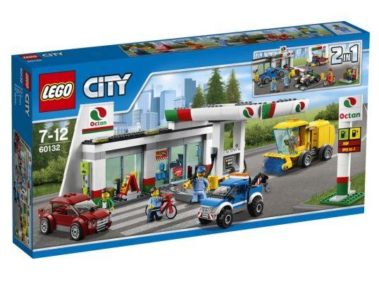 60132 LEGO CITY: Станция технического обслуживания