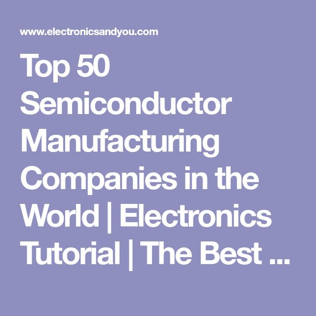 Best 25+ Semiconductor manufacturing ideas on Pinterest The - semiconductor equipment engineer sample resume