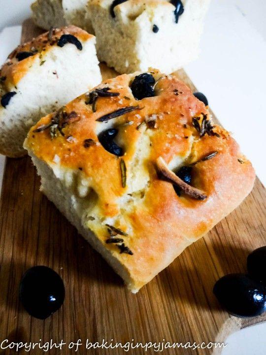 Black Olive Focaccia
