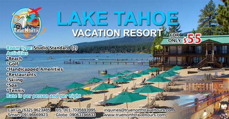 Lake Tahoe vacation resort copy