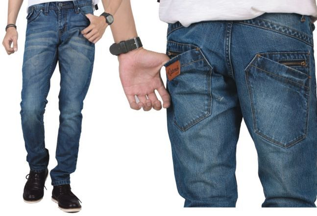 men's slim fit jeans increasingly attractive to young men