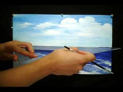 How To Paint Seascapes
