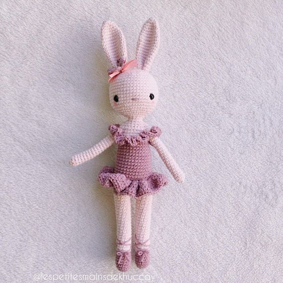 Tutoriel patron doudou vintage granny koala lapin crochet | Etsy | 570x570