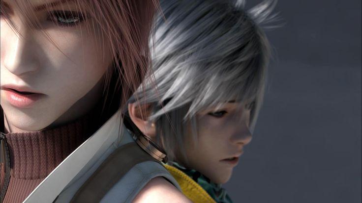 Hope Estheim and Lightning - Final Fantasy XIII