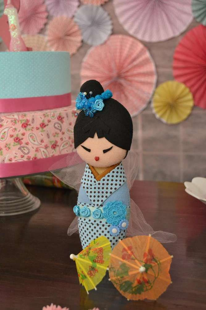 Kokeshi dolls Birthday Party Ideas | Photo 3 of 24 | Catch My Party