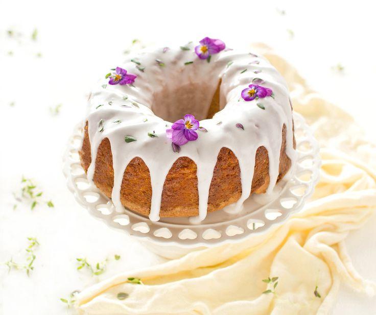 The Kiwi Cook   Lemon and Thyme Bundt Cake   http://thekiwicook.com