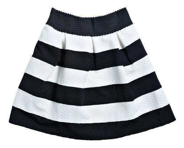 Skirt from Dotti. #monochrome