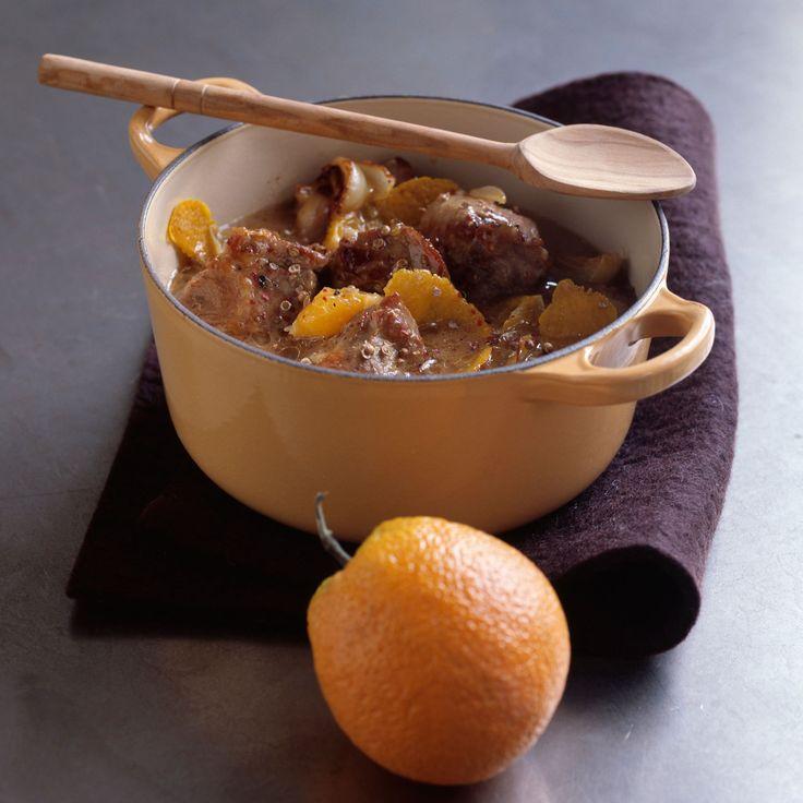 Découvrez la recette Echine de porc à la bière sur cuisineactuelle.fr.