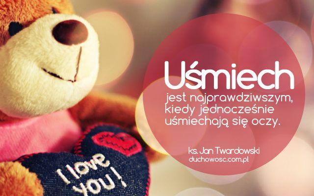 Uśmiech | ks. Jan Twardowski