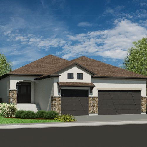 Mission Scottsdale 1889: Best 75+ House Plans With 3 Car Garages Images On