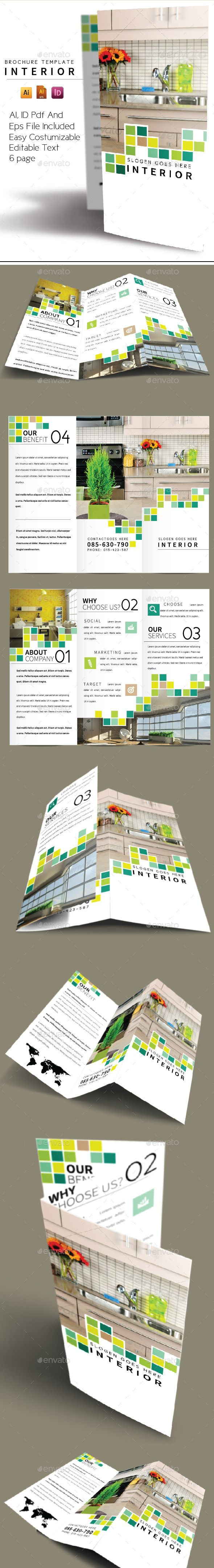 EPS Interior Brochure Template  • Only available here ➝…