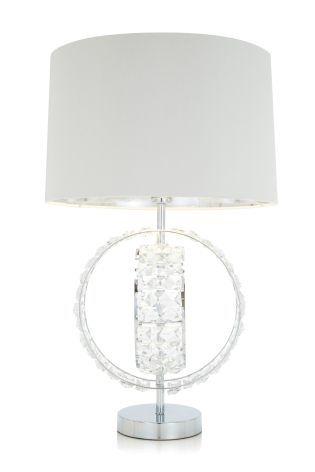 Clear Venetian Table Lamp