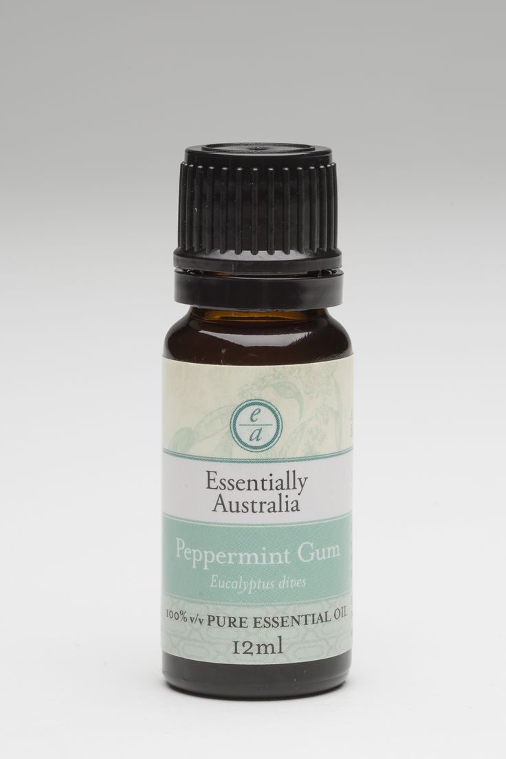 Eucalyptus - Peppermint Gum (Eucalyptus dives) A smooth, gentle pepper aroma along with a mild Eucalyptus aroma, it is terrific for assisting to breathe easy again.