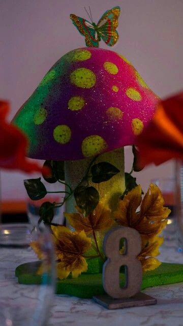 Temática hongos sicodelicos