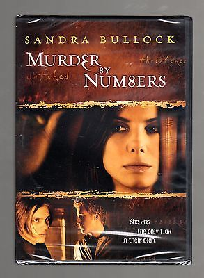 Murder By Numbers (DVD) Barbet Schroeder, Sandra Bullock, Ryan Gosling, NEW!